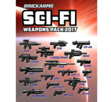 Brickarms Sci-Fi Pack 2017  WQB29