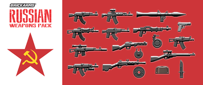 BrickArms Russian Weapons Pack WQB20