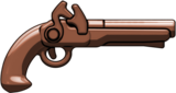 Brown Brickarms Flintlock Pistol  BA68A