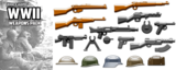 Brickarms WWII Weapons Pack 1  WQB18