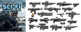 Brickarms Sci-Fi Weapons Pack  WQB24