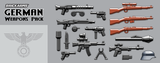 BrickArms German Weapons Pack  WQB17